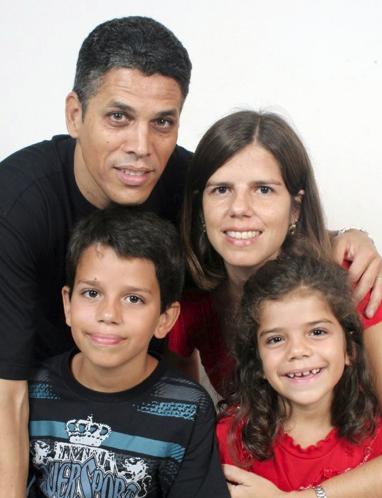 Dayan, Mirna, Lucas e Alice